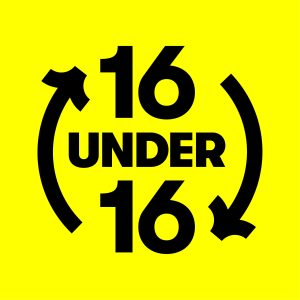 16 under 16 campaign image