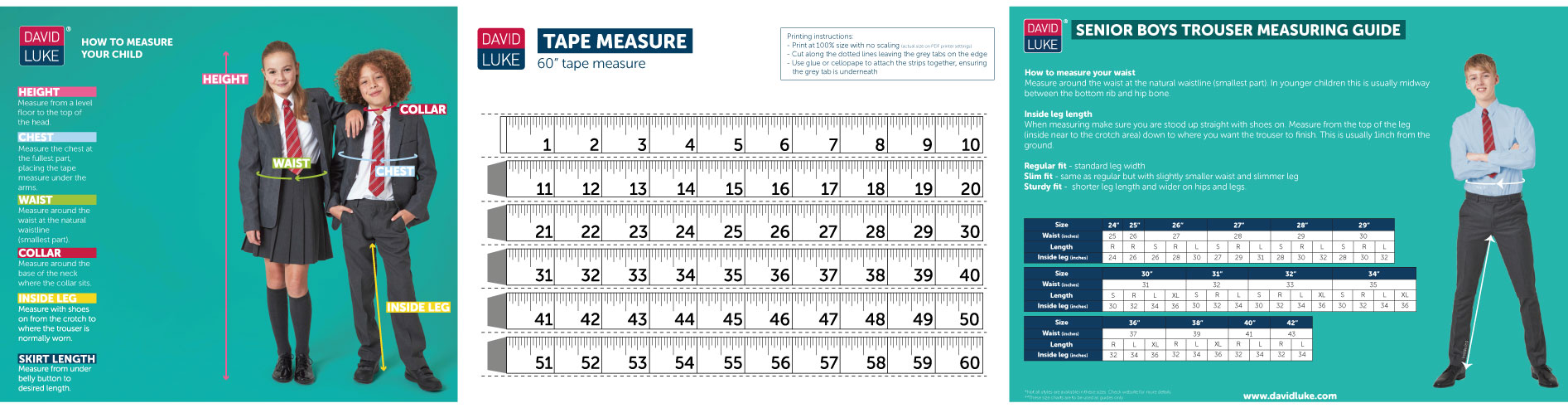 Images of measuring guide tools