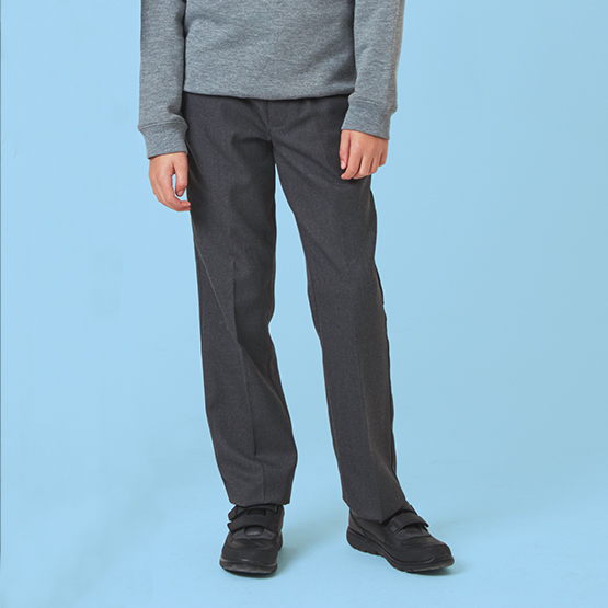 Junior Boys' Slim Fit School Trousers
