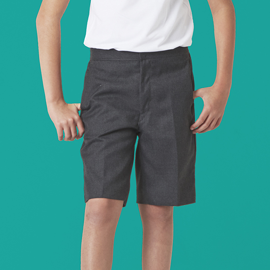 Boys Bermuda Length School Shorts