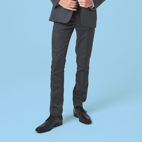 Senior Boys' Skinny Fit School Trousers