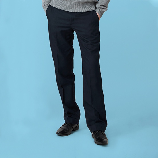 Senior Boys' Regular Fit School Trousers