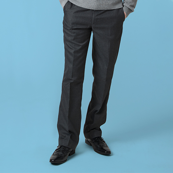 Senior Boys' Slim Fit School Trousers