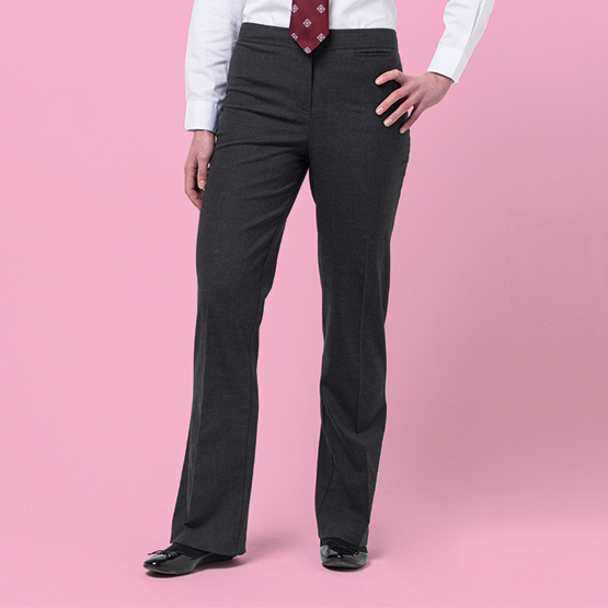 Senior Girls' Regular Fit School Trousers
