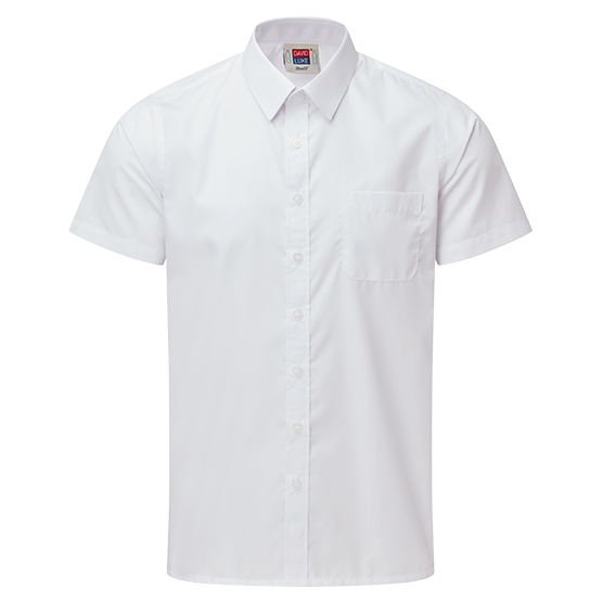 Boys Short Sleeve School Shirt